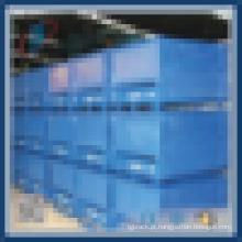 Caixa de armazenamento de volume de metal industrial