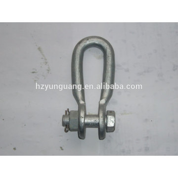 shackle/electric line link accessories/connector heavy lift link power fitting /construction hardware
