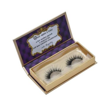 Hot Stamping Logo Custom Eyelashes Packaging Box Cardboard