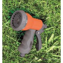 Garten Sprayer 6 Muster einstellbare ABS-Kunststoff Wasser Spritzpistole