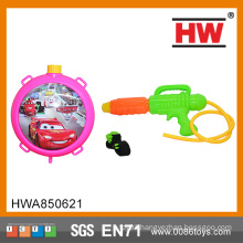 Outdoor play toy cars backpack water guns long distance