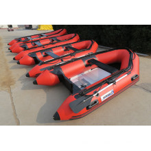 High-Tube 2.7m-4.2m Sport Inflatable Boat with Outboard Motor