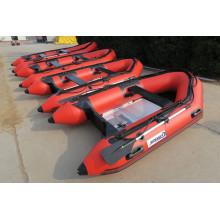 Alta-tubo 2,7 m - 4,2 m Sport barco inflável com Motor de popa