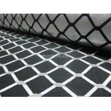 Popular Fabric 100% Polyester Jacquard Woven Fabric Cloth f