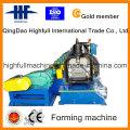 Machine à formater des rouleaux à gouttière en acier galvanisé en acier inoxydable