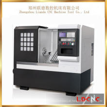 China Small Precision Slant Bed Máquina de torno de torneamento de metal CNC