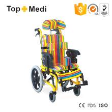 Topmedi High Back Reclining Children Cerebral Palsy Wheelchair