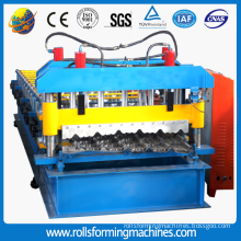 Roll forming machine metal roofing