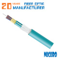 cable de fibra óptica monomodo interior de 72 núcleos con amortiguación estrecha