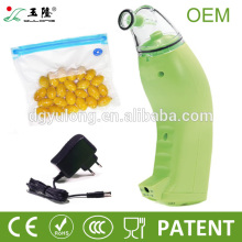 2014 Home vacuum sealing machine with reusable vacuum bag