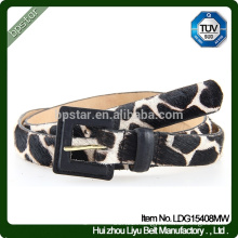 2016 Female Top High Quality Pin Buckle Belt Sexy Leopard Belt Lady Leather Belts
