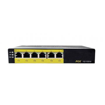10 / 100M 6-Port Ethernet POE-schakelaar