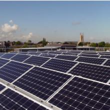 Extrudierte Profile für Solarpanel