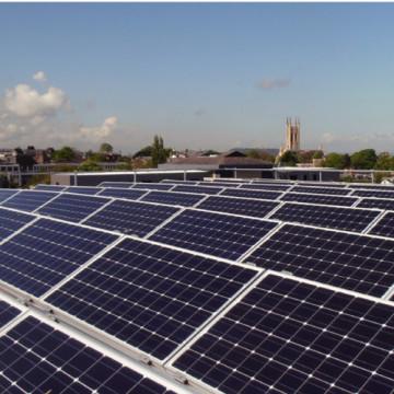 Perfil de alumínio Frame módulo solar