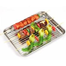Support de refroidissement de cuisson de fil métallique d'acier inoxydable de cuisine