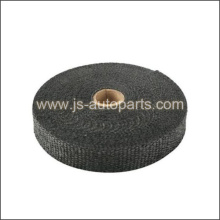 2 X 50' FIBERGLASS EXHAUST HEAT WRAP, BLACK