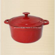 LFGB aprovou Cocotte de ferro fundido com acabamento de esmalte China