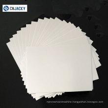 Shenzhen Guangzhou Factory Wholesale A3 A4 Size HP Indigo Digital Printing PVC Sheet / Waterproof HP Indigo PVC Sheet