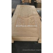 mais recente projeto portas de madeira placa de engenharia folheado pele