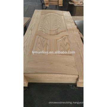 latest design wooden doors board engineered veneer skin