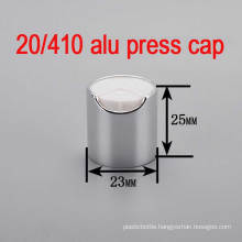 20/410 Alu/Plastic Screw Pump Shampoo Bottle Cap/Press Top Cap
