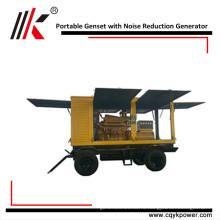 70квт 90 дизельный генератор kva молчком портативный Тепловозный генератор, тепловозный генератор цена для продажи в Нигерии