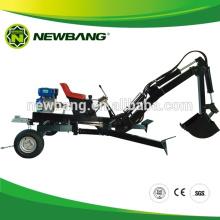 Excavatrice de chariot à essence pour VTT / Tracteur de jardin