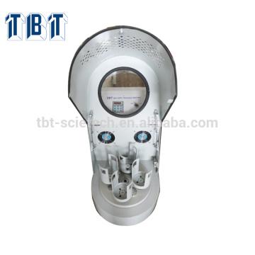 Petit broyeur à boulets planétaire 0.4Lto 4L de laboratoire compact pour la batterie d'ion de li, broyeur à boulets planétaire de meulage