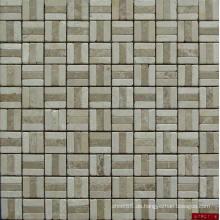 Natürliches Marmor Mosaik, Stein Mosaik, 3 D Mosaik