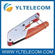 Aislamiento seguridad F Coaxial conector herramienta que prensa