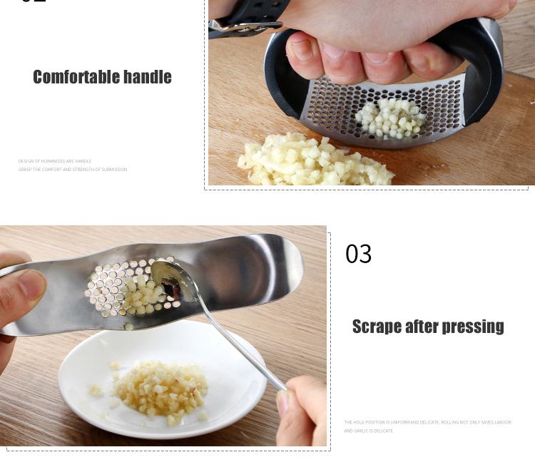 Food Grade Garlic Press
