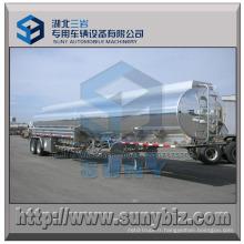 DOT 35000 L Aluminium 5454 Camion-citerne Remorque