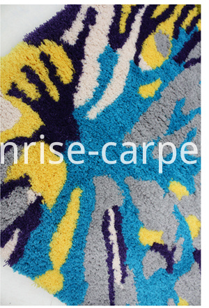 machine made microfiber carpet