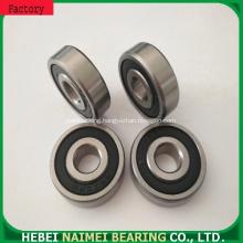 High performance customized nylon pulley wear plastic bearing wheel 6202zz 6202rs