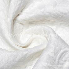 Fibra Química Poliéster Impressão Digital Grandes Rosas Tecido Jacquard
