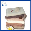 100% Twistless Cotton Yarn embroidered Face Towel