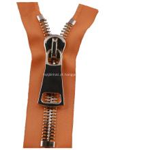 Zipper de alta resistência de aço inoxidável para a bagagem