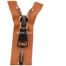 Excellent quality for for Metal Zipper Stainless Steel High Strength Zipper for Luggage export to Russian Federation Exporter