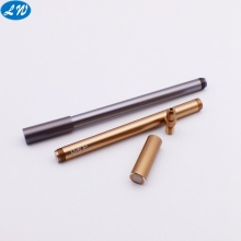 Machining anodized aluminum fountain pen accessoried parts