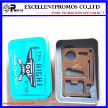11 Ferramenta de sobrevivência In1pocket Ferramenta de cartão de sobrevivência do Exército Multi (EP-TS8128)