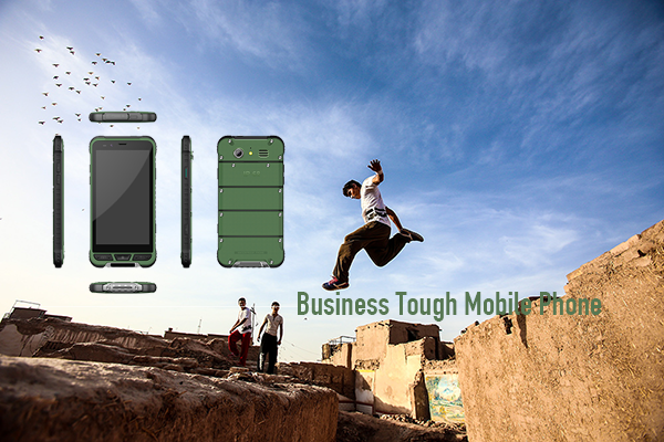 Oficial de aduanas 4G TOUGH PHONE