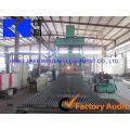 Chaîne automatique de caillebotis d'acier de passage de haute qualité