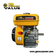 Motor de gasolina pequeño de 4 tiempos y 5.5HP 168f