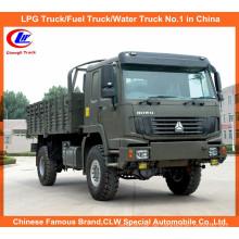 Allradantrieb Sinotruk HOWO 4X4 Ladewagen für Wüste