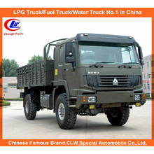 Toda a movimentação da roda Sinotruk HOWO caminhão de carga 4X4 para o deserto