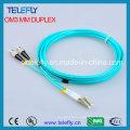 FC-LC Om3 cabo de cabo de remendo, cabo de ligação Jumper