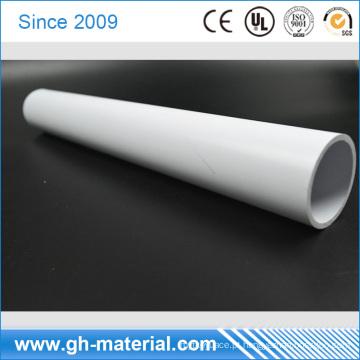 Tubulação redonda do ABS plástico rígido ondulado rígido do sólido