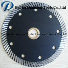 4 '' 6 '' 9 '' petit disque de coupe de diamant pour la meuleuse d'angle