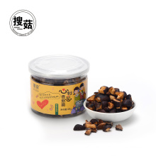 High grade instant snacks shiitake crisps from China