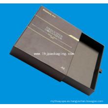 Caja de papel de embalaje de cajón de alta calidad con cinta